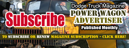 Power Wagon Advertiser Forums
